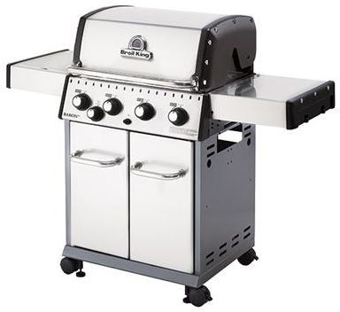 """Broil King® Baron 440 S 24"""" Stainless Steel Free Standing Grill-922567"""