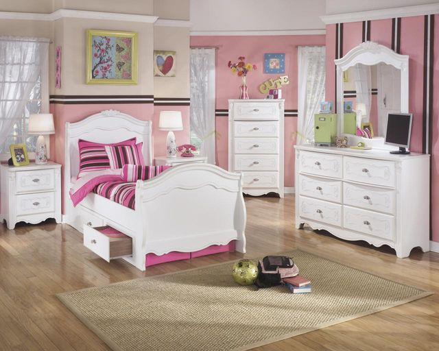 Signature Design by Ashley® Exquisite White Youth Under Bed Storage-B188-60