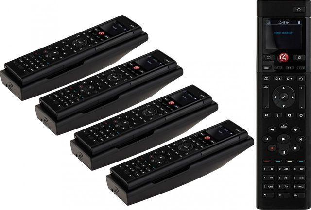 Control4® Icon 5 Pack SR260 System Remote Control and Recharging Station-C4-SR260RSK-I-5PK