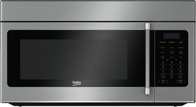 Beko 1.5 Cu. Ft. Stainless Steel Over the Range Microwave-MWOTR30200CSS