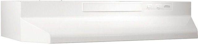 "Broan® 43000 Series 30"" White Under Cabinet Range Hood-433011"