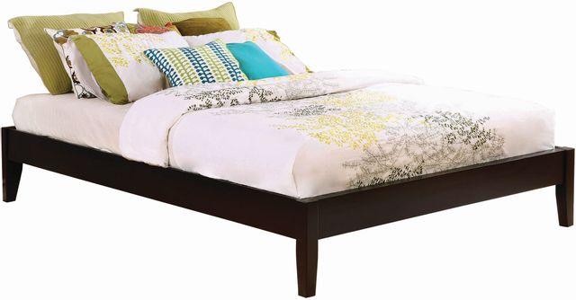 Coaster® Hounslow Cappuccino King Platform Bed-300555KE