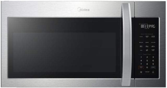 Midea® 1.9 Cu. Ft. Stainless Steel Over The Range Microwave-MMO19S3AST