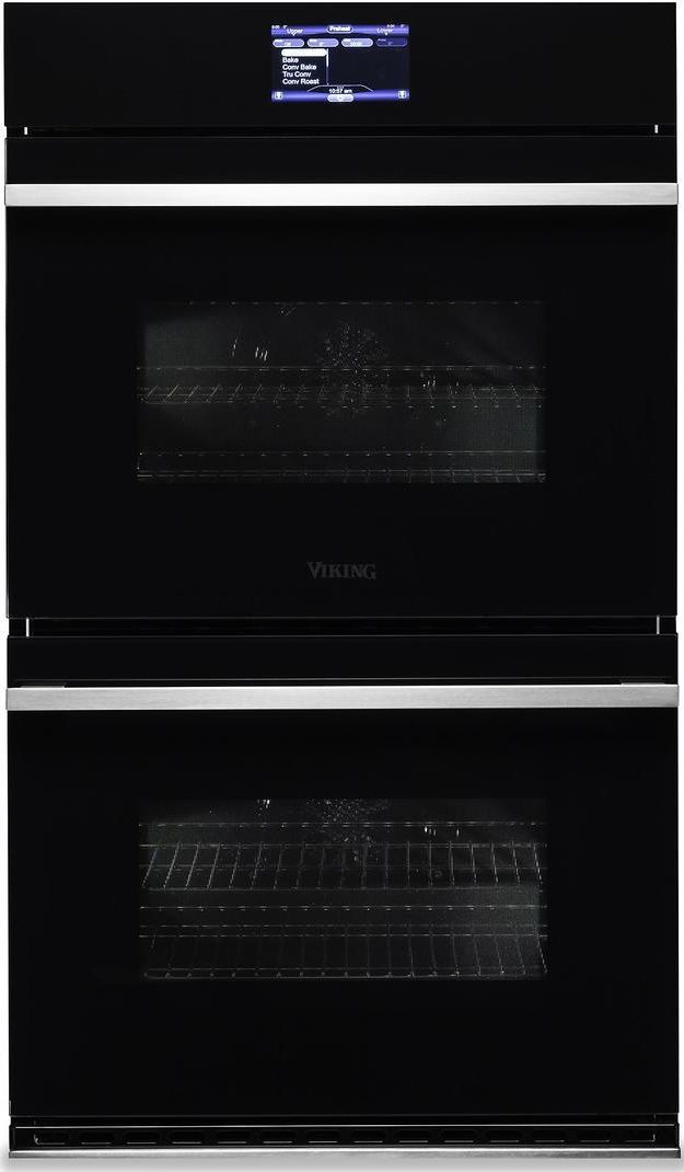 Viking 174 6 Series 30 Quot Black Glass Built In Electric Double