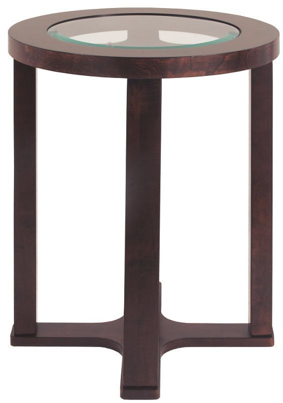 Signature Design by Ashley® Marion Dark Brown Round End Table-T477-6