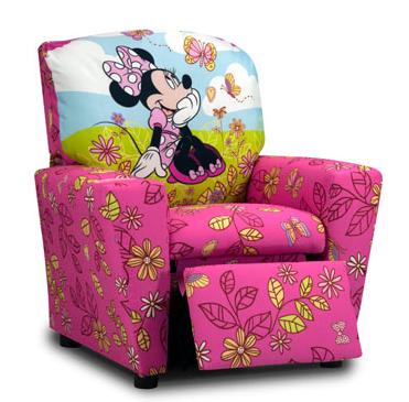 Kidz World Disney Living Room Youth Recliners-1300-1DMIN