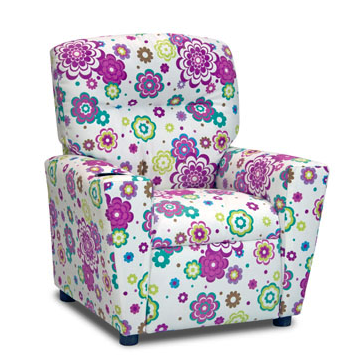 Kidz World Designer Living Room Youth Recliners-1300-1SGS