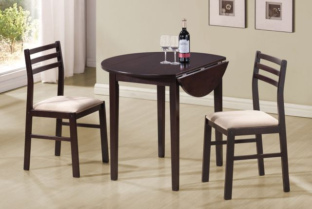 Coaster® Dinettes 3 Piece Table and Chair Set-130005