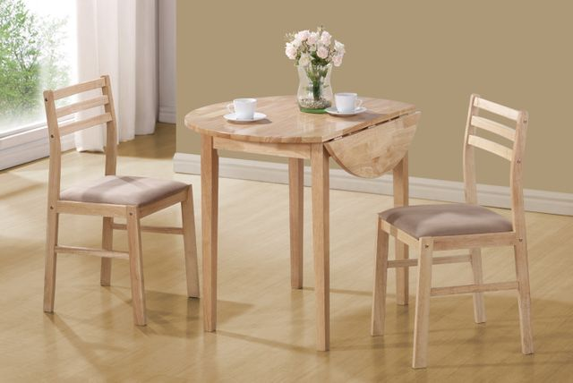 Coaster® Dinettes 3 Piece Table and Chair Set-130006
