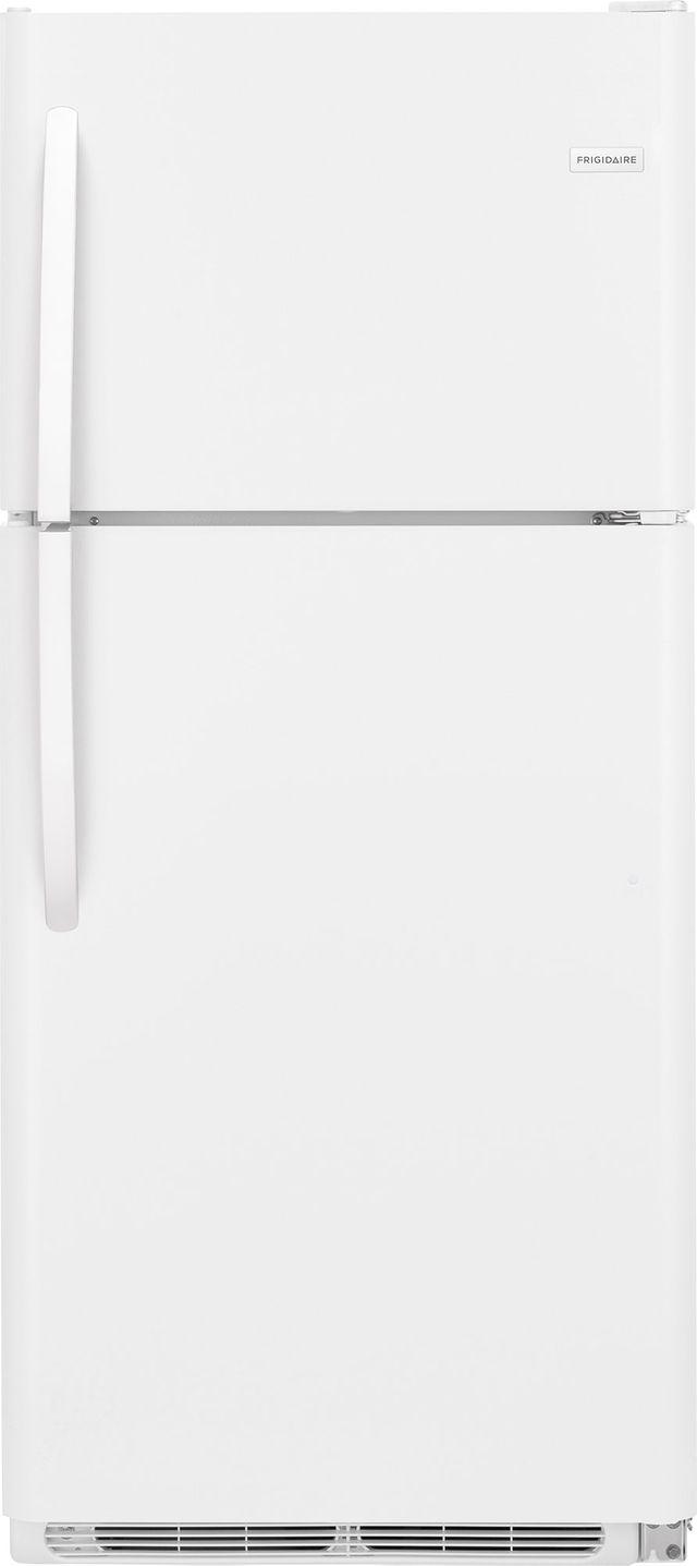 Frigidaire® 20.4 Cu. Ft. White Top Freezer Refrigerator-FFTR2021TW