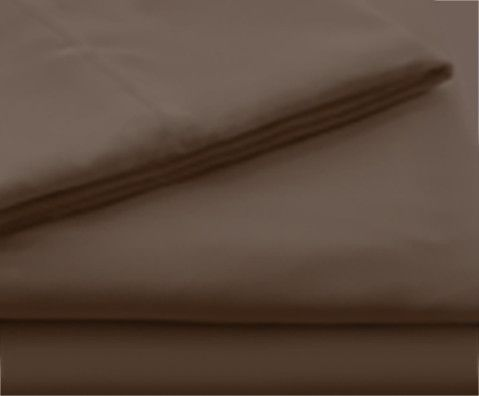 Malouf® Sleep Woven™ Brushed Microfiber Chocolate Twin Sheet Set-MA90TTCHMS