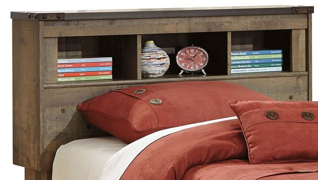 Signature Design by Ashley® Trinell Rustic Brown Twin Bookcase Headboard-B446-63