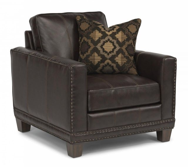 Flexsteel® Port Royal Leather Chair-1373-10