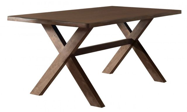 Coaster® Alston X-shaped Knotty Nutmeg Dining Table-106381