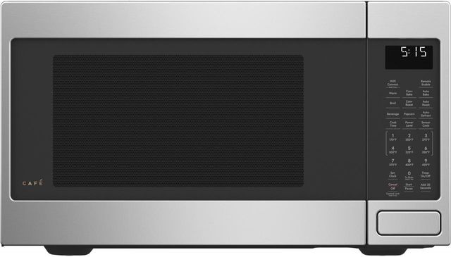Café™ 1.5 Cu. Ft. Stainless Steel Countertop Microwave-CEB515P2NSS