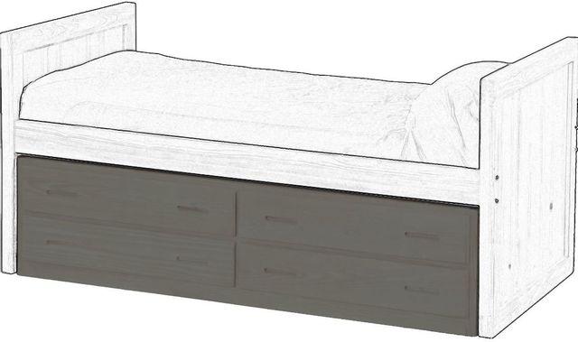 Crate Designs™ Graphite Finish Underbed Unit-G4013