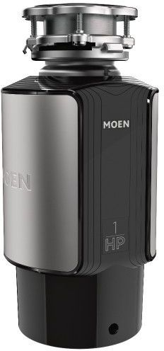 Moen® GX Series 1 HP Continuous Feed Black Garbage Disposal-GX100C