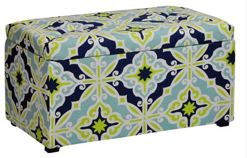 Kidz World Meridia Youth Bedroom Bench Storage Box-1425