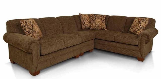 England™ Furniture Monroe Medium Brown Sectional-1430-SECT