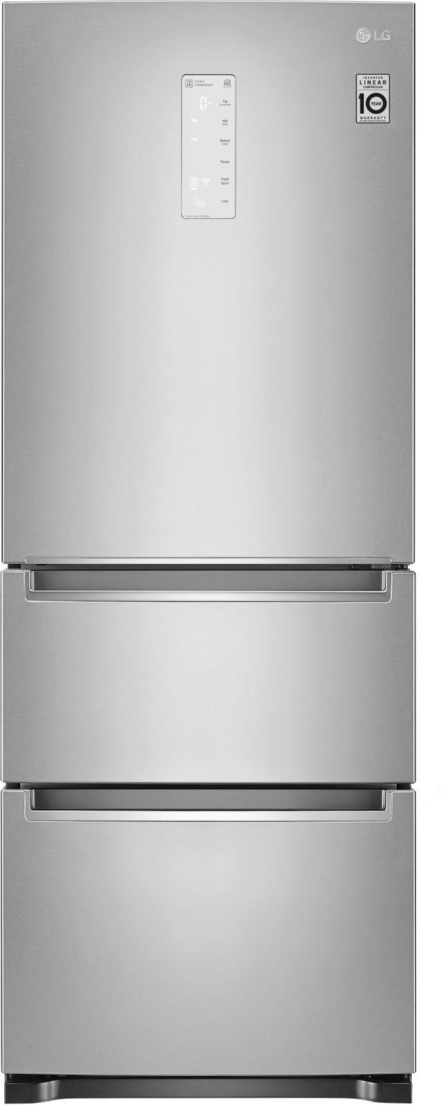 LG 11.7 Cu. Ft.  Noble Steel Kimchi Refrigerator-LRKNS1205V