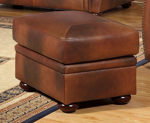 Leather Italia Cambria Arizona Ottoman-1444-6110-0004234