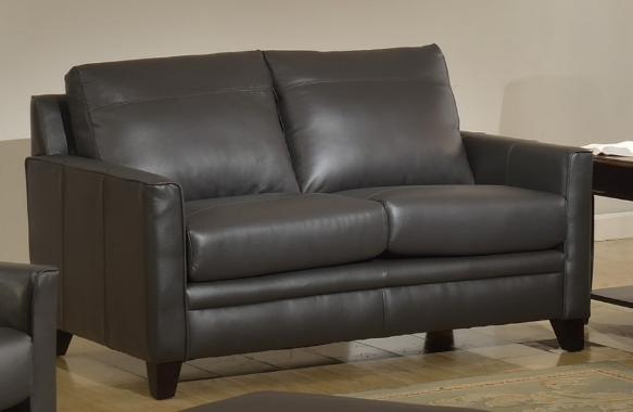 Leather Italia Cambria Fletcher Love Seat-1444-6287B-021128A