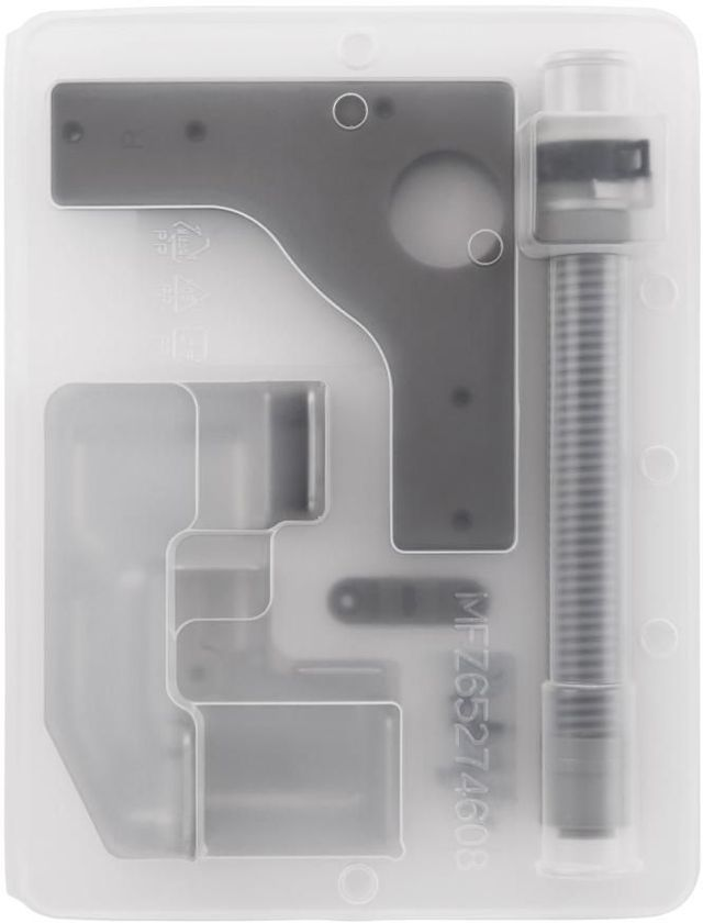 "LG 27"" Chrome Laundry Stacking Kit-TSTK1"