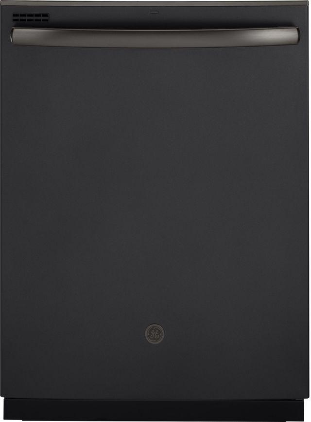 """GE® 24"""" Built In Dishwasher-Black Slate-GDT605PFMDS"""