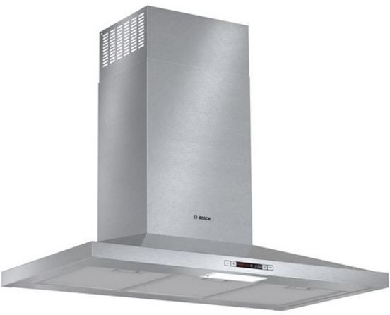 """Bosch 300 Series 36"""" Pyramid Canopy Chimney Hood -Stainless Steel-HCP36E51UC"""