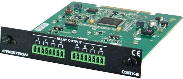 Crestron® 3-Series™ Control Card-C3RY-8
