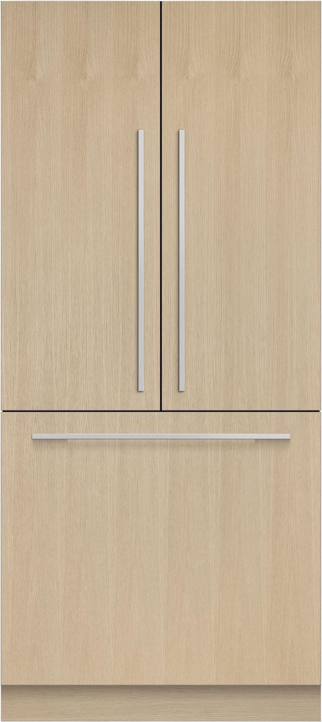 Réfrigérateur à portes françaises de 36 po Fisher Paykel® de 16,8 pi³ - Prêt pour le panneau-RS36A80J1 N