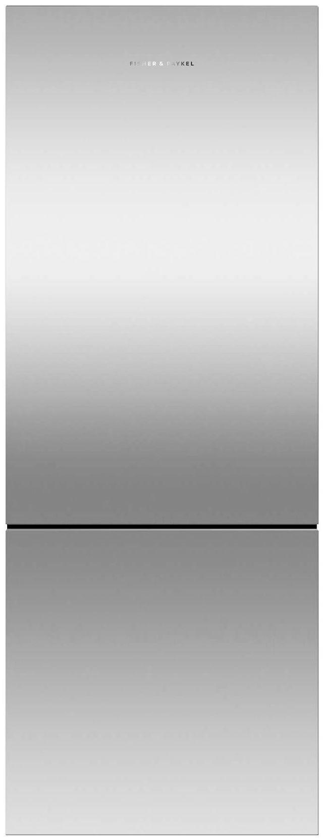 Réfrigérateur à congélateur inférieur à profondeur de comptoir de 24 po Fisher Paykel® de 13,4 pi³ - Acier inoxydable-RF135BRPX6 N