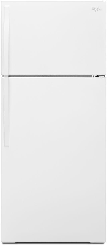 Whirlpool® 16.0 Cu. Ft. Top Freezer Refrigerator-White-WRT106TFDW