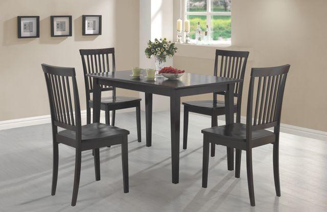 Coaster® Oakdale 5 Piece Dining Set-150152