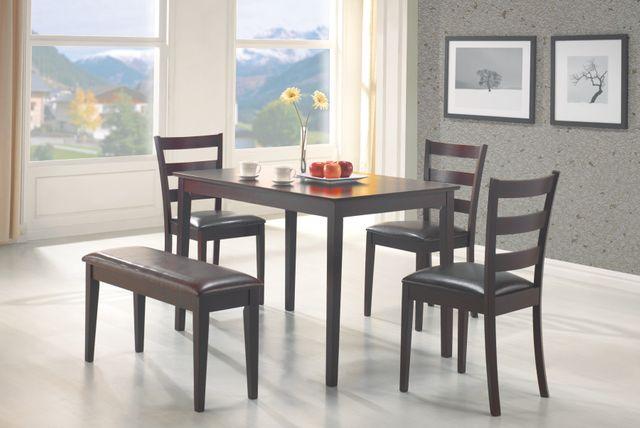 Coaster® Taraval 5 Piece Dining Set-150232