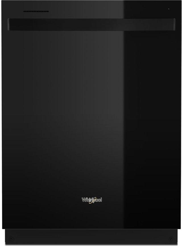 """Whirlpool® 24"""" Black Built In Dishwasher-WDT750SAKB"""