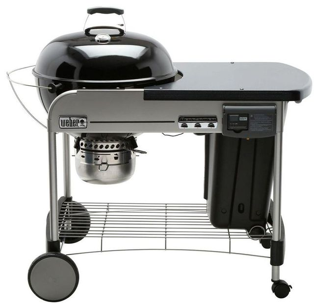 """Weber® Performer® Deluxe 48"""" Black Charcoal Grill-15501001"""