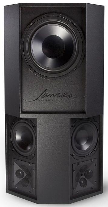 James Loudspeaker®  4-Way Full-Range Surround On-Wall Speaker-MQS85