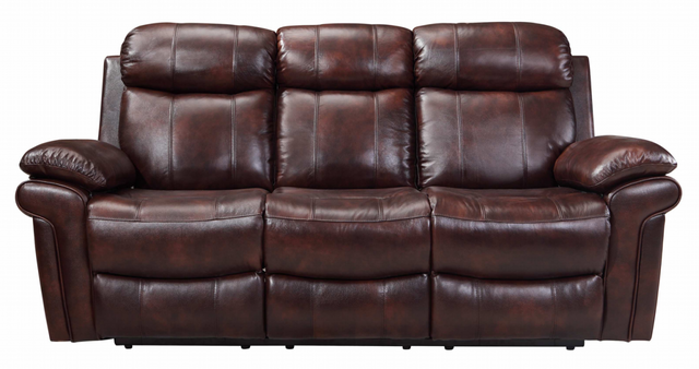 Leather Italia Shae Joplin Dual Power Reclining Sofa-1555-E2117-031081LV