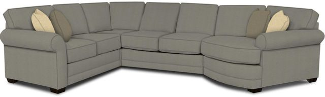 England Furniture Co. Brantley 4 Piece Culpepper Cement/Alvarado Mineral/Grande Pewter Sectional-5630-28-22-43-95+8612+7484+8601