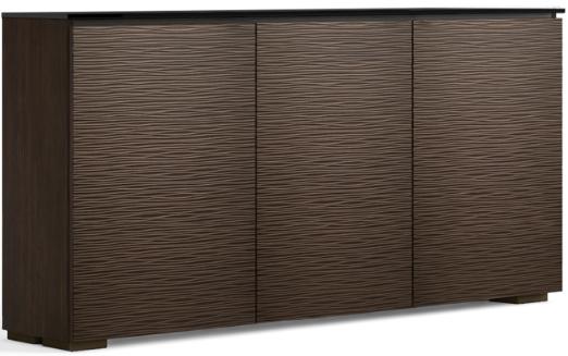Salamander Designs® Chameleon Low Profile 337 Wenge AV Cabinet-C1/BL337/WE