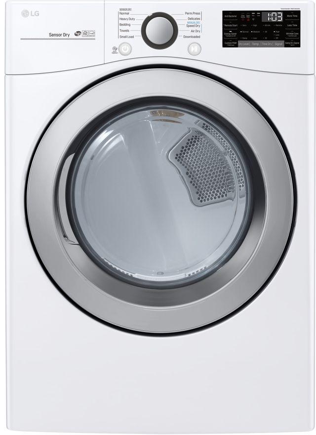 Sécheuse électrique LG® de 7,4 pi³ - Blanc-DLE3500W