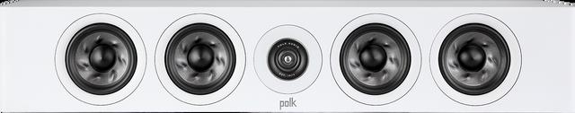 Polk Audio Reserve White Slim Center Channel Speaker -R350 White