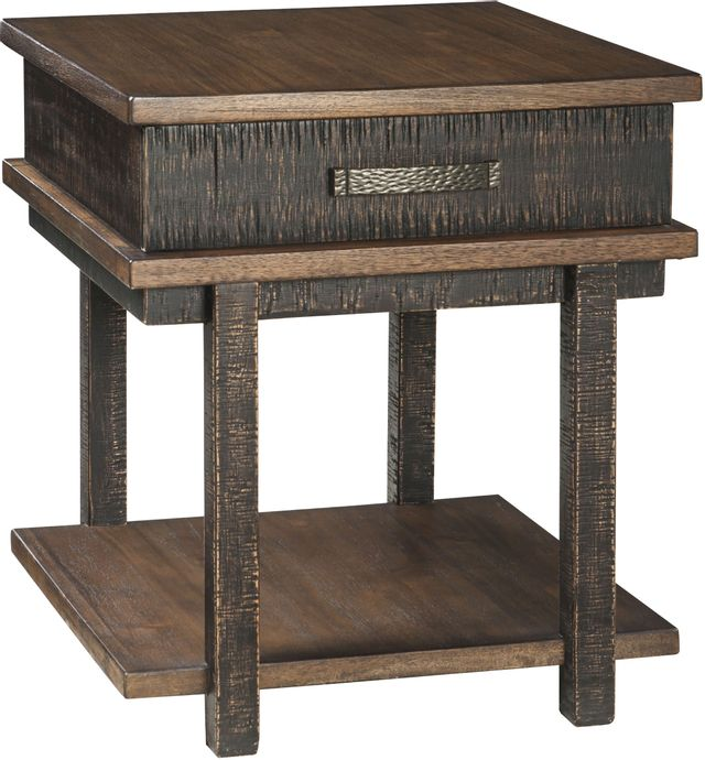 Signature Design by Ashley® Stanah Two Tone Rectangular End Table-T892-3