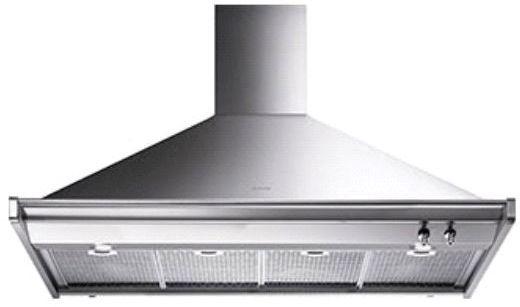 "Smeg 48"" Ventilation Hood-Stainless Steel-KD120XU"