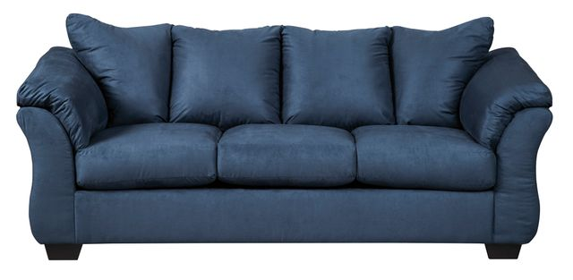 Signature Design by Ashley® Darcy Blue Sofa-7500738