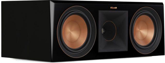 Klipsch® Reference Premiere Piano Black RP-600C Center Channel Speaker-1065818