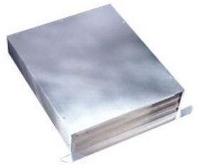 Broan Elite Exterior Blower- Aluminum-332H