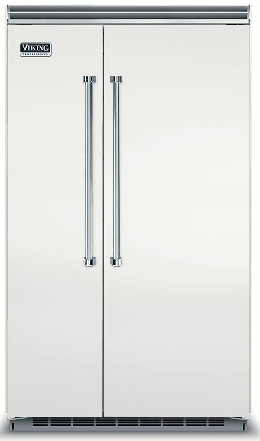 Viking® 5 Series 29.05 Cu. Ft. Stainless Steel Built In Side By Side Refrigerator-VCSB5483SS