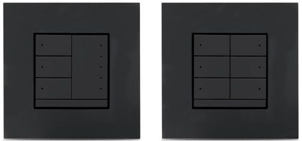 Crestron® Universal Phase In-Wall Dimmer-Anthracite-CLWI-DIMUNEX-ANTH